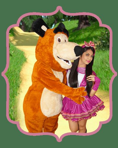 Show infantil Masha y el Oso