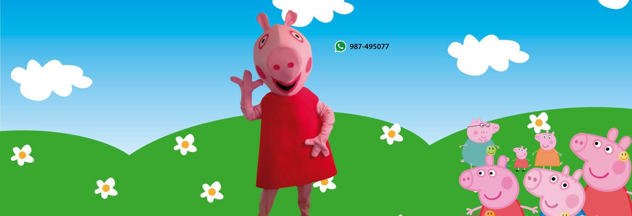 Show infantil Peppa Pig